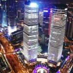 Downtown shanghai — Stock Photo