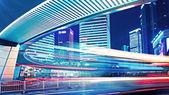 City traffic in shanghai — Stock Photo