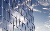 Skyscraper windows — Stock Photo