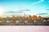 Panorama new yorku — Stock fotografie