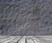 Floor and stucco wall — Stock Photo