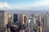 Stedelijke skyline — Stockfoto