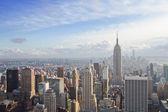 Vista da cidade de nova york — Foto Stock