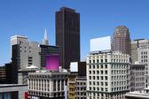 Abstracte stadsgezicht — Stockfoto