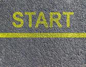 Start race — Stock Photo