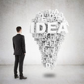 Idea symbol — Stock Photo