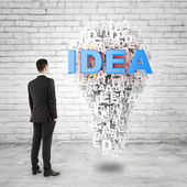Idea symbol — Stock Photo