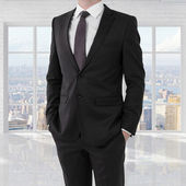 Man in suit — Stock Photo