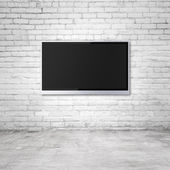Wide screen TV — Stock Photo