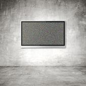 Wide screen TV — Stock Photo