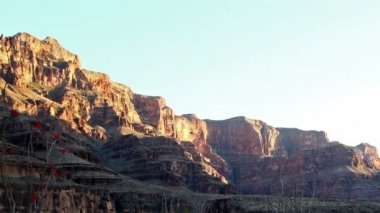 Sunset in Grand Canyon — Stok video