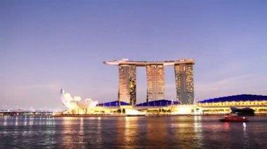 Marina Bay, Singapore — Stock Video