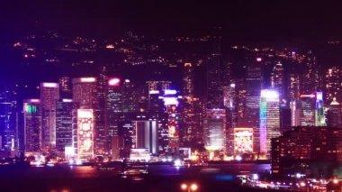 Hong kong mrakodrapy — Stock video