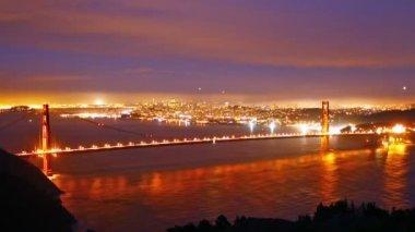 мост золотые ворота — Стоковое видео