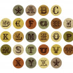 Vintage letter alphabet set — Stock Vector #29668643