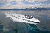 Motor boat, rio yachts best italian yacht — Stock Photo