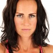 Portrait of female fitness model looking at camera — Stok Fotoğraf #36314279
