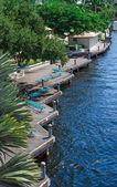 Marina Boardwalk — Zdjęcie stockowe