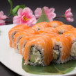 Philadelphia sushi roll — Stockfoto
