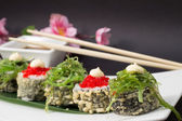 Tempura sushi roll — Stock Photo