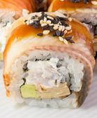 Rollo de sushi de canadá — Foto de Stock