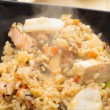 Rice with seafood — Stock Photo #34336957