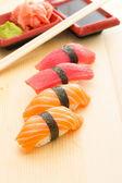 Sushi nigiri — Stock Photo