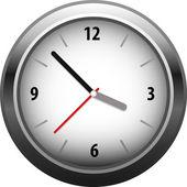 Vecttor clocks — Stock Vector