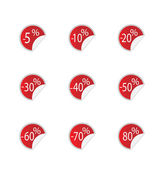 Sale icons — Vetorial Stock