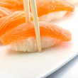 Stock Photo: Salmon nigiri