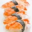Shrimp sushi nigiri — Foto Stock