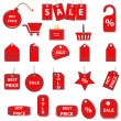 Sale tags — Stock Vector #37331687