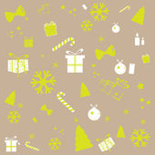 New year vector background — Stock Vector