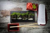 Vintage food — Stock Photo