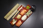 Asian food sushi — Stock Photo