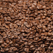 Coffee beans, can be used as a background — Foto de Stock