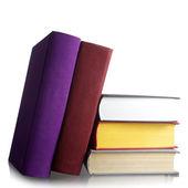 Stack av gamla böcker — Stockfoto