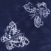 Material dyed batik — Stock Photo