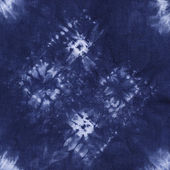 Material dyed batik. Shibori  — Stock Photo