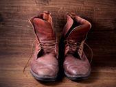 пара старых сапоги — Стоковое фото