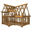 Foto de Stock  : Frame construction