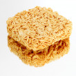 Instant noodles on the miror — Stock Photo