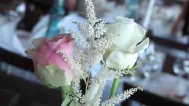 Decorative roses — Stock Video