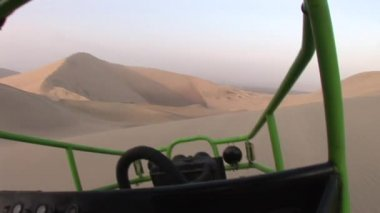 Trip in the sand desert in Peru, South America — ストックビデオ