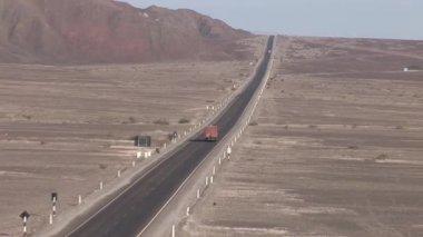 Strada nel deserto — Video Stock