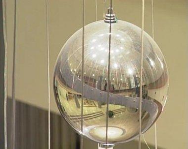 Christmas ball — Stock Video