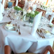 Stock Video: Table setting