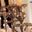 Stock Video: Candle holders