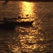 Stock Video: Sun setting on Nile