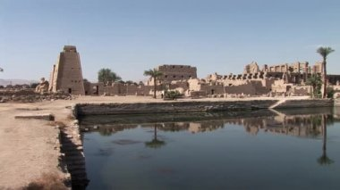 The Temple of Karnak — Stock Video